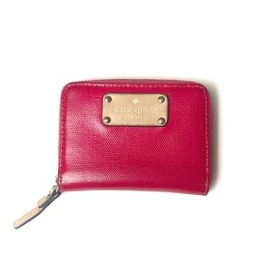 Kate Spade Magenta Mini Wallet